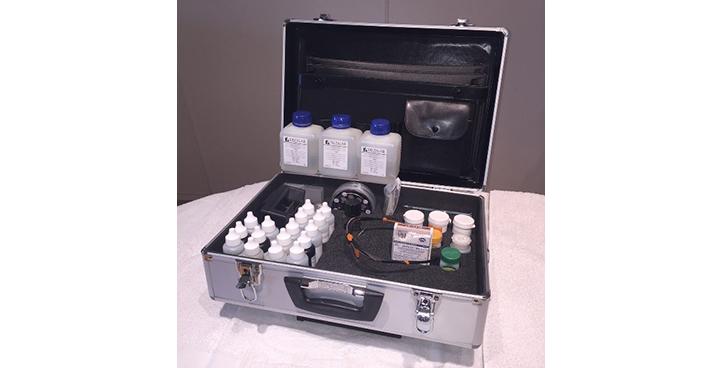 Testkoffert til vannbehandling