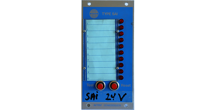 SAI 24V - Alarmindikator
