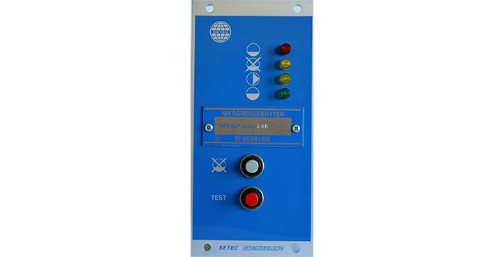 SLP Lav alarm - Pumpe start/stopp